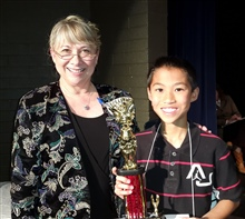 3rd Place Jett Jue 5th Grade Winslow USD #1