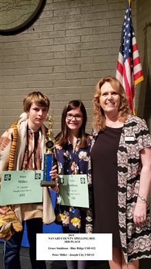 3rd Place from left to right - Peter Miller Joseph City and Grace Smithson - Blue Ridge