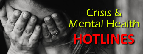 Crisis and Mental Health Hotlines!